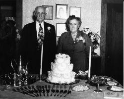 David T & Alta Z Crane 50th Wedding Anniversary